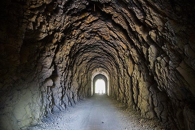 Tunnel Biking Idaho