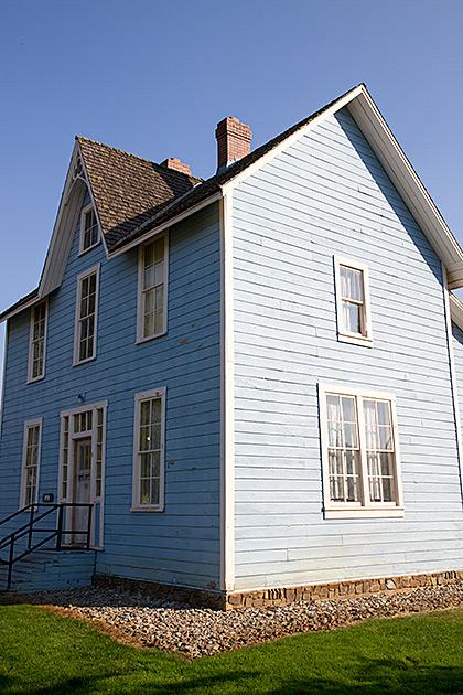 Blue House Idaho