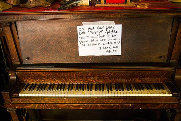 Play The Piano In Idaho